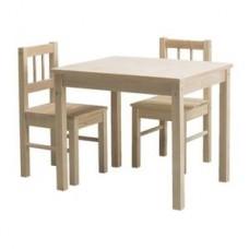 Комплект детский (стол 500х600х500мм + 1 стул 270х270х300мм) (IKEA)