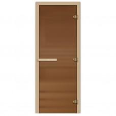 Дверь для саун Стекло бронза 1900х700мм