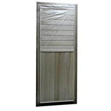 Дверь банная 1700х700мм глухая (Осина)