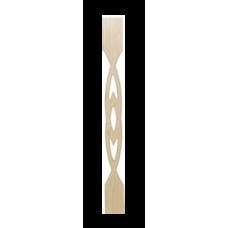 Балясина плоская прорезная №1