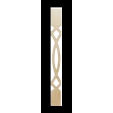 Балясина плоская прорезная №2