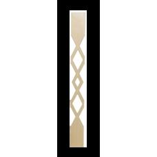 Балясина плоская прорезная №3
